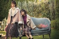 乃木坂46齋藤飛鳥&西野七瀬、可愛すぎる「GRL」モテ服コーデ披露