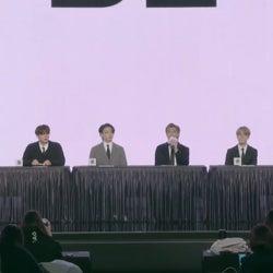 【BTS「BE」グローバル記者会見全文訳】メンバーが全8曲解説・不在のSUGAに触れる場面も
