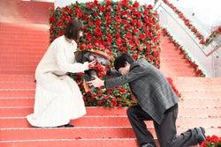 綾瀬はるか、坂口健太郎/横浜ブルク13で実施された初日舞台挨拶イベントの様子(C)2018 映画「今夜、ロマンス劇場で」製作委員会