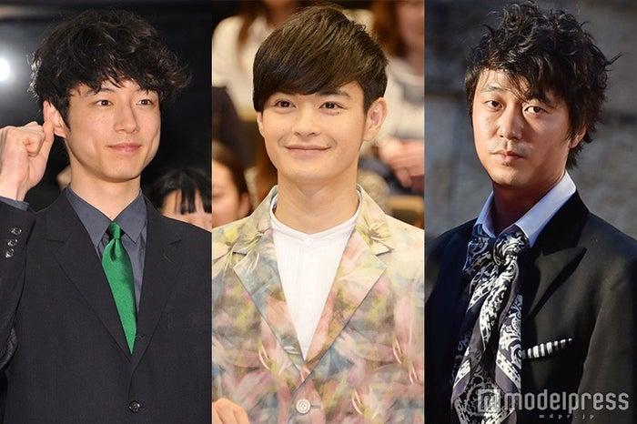 (左から)坂口健太郎、瀬戸康史、新井浩文(C)モデルプレス