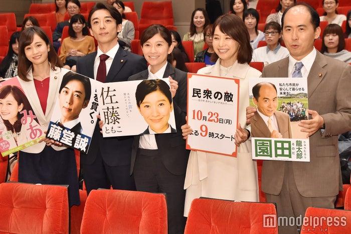 前田敦子、高橋一生、篠原涼子、石田ゆり子、斎藤司 (C)モデルプレス