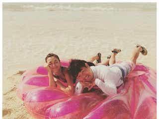 """木下優樹菜&フジモン夫婦、水着姿で""""久々2ショット""""公開「待ってました」「素敵な夫婦」と反響"""