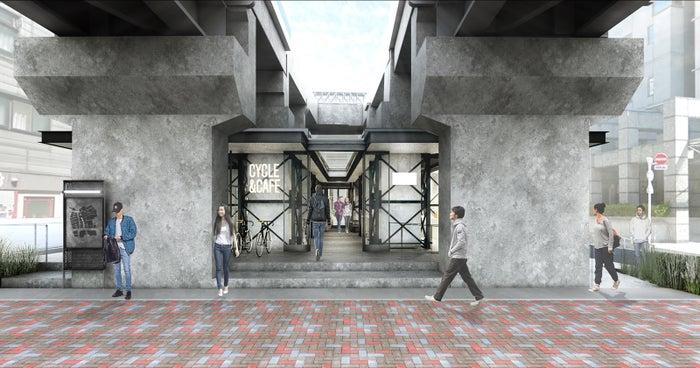 池上線五反田高架下/画像提供:東急電鉄