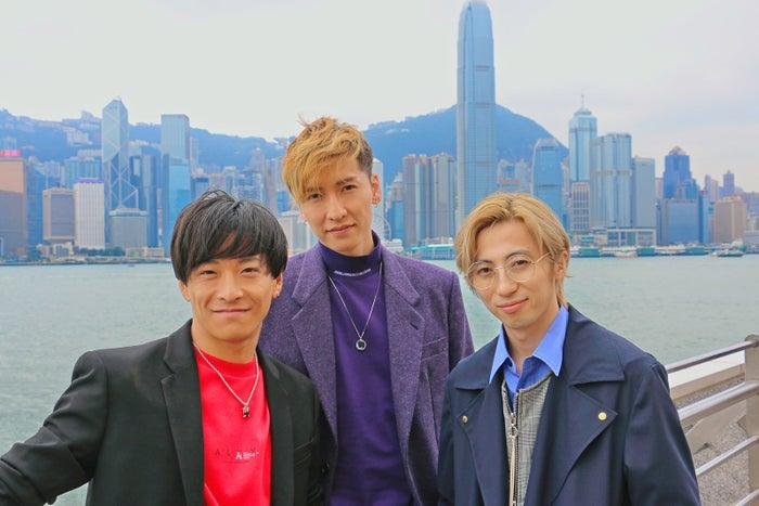 (左から)緒方龍一、橘慶太、千葉涼平(提供写真)
