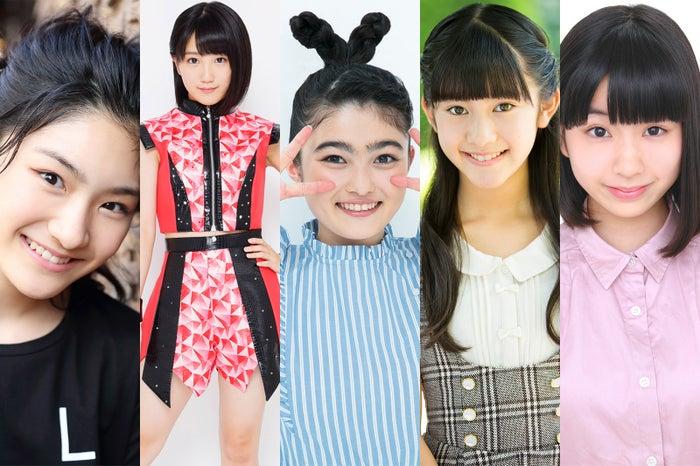 (左から)岡田愛、船木結、井上咲楽、宮田くるみ、奥森皐月(提供写真)