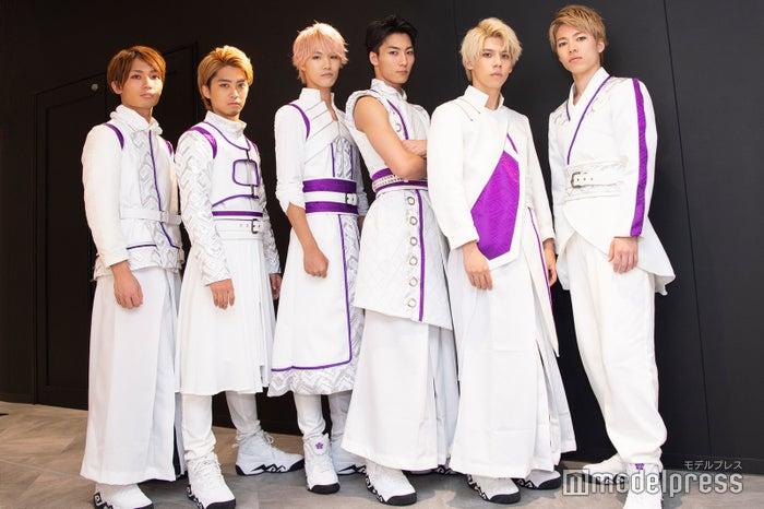 【team桔梗】BISKE、品川 翔、RANMA、里中将道、Lil Noah、神谷亮太 (C)モデルプレス