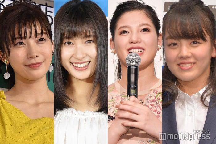 (左から)小倉優香、土屋太鳳、石井杏奈、伊原六花 (C)モデルプレス