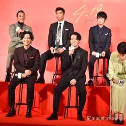山崎賢人が話し出すとキャスト陣に笑みがこぼれる優しい世界 (C)モデルプレス