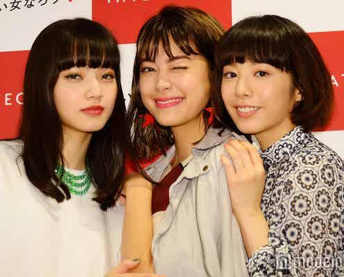 小松菜奈・森星・夏帆の美女3人を起用 「インテグレート(INTEGRATE)」新ミューズを迎えリニューアル