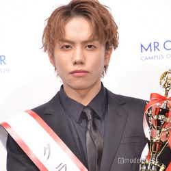 """モデルプレス - """"日本一のイケメン大学生""""桜美林大学・一光希さんが受賞<MR OF MR CAMPUS CONTEST2020>"""