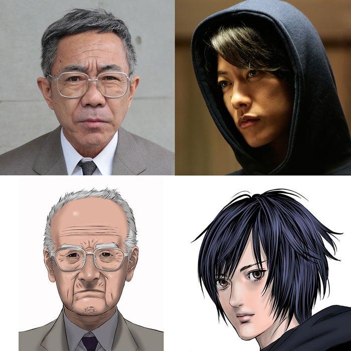 木梨憲武&佐藤健「いぬやしき」...
