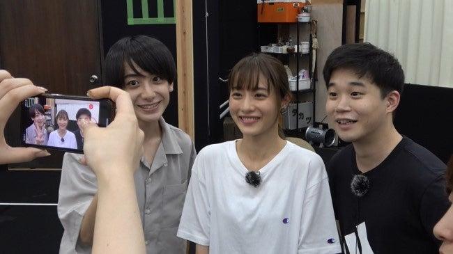 (左から)小西詠斗、石原さとみ、矢本悠馬(提供画像)