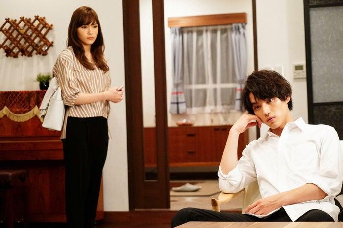 川口春奈、福士蒼汰/「愛してたって、秘密はある。」最終話より(画像提供:日本テレビ)