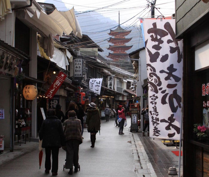 表参道商店街(写真提供:広島県)