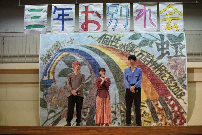 (左から)横浜流星、上白石萌音、杉野遥亮(C)「2019 L・DK」製作委員会