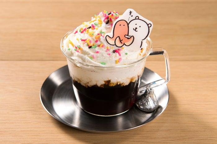 ウィンナーさんをソッ~ウインナーコーヒー&ミルクティー~¥790(C)nagano/(C)GSJ