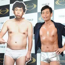 モデルプレス - ココリコ遠藤章造、2ヶ月半で10kg減 肉体美披露で妻のサポートに感謝