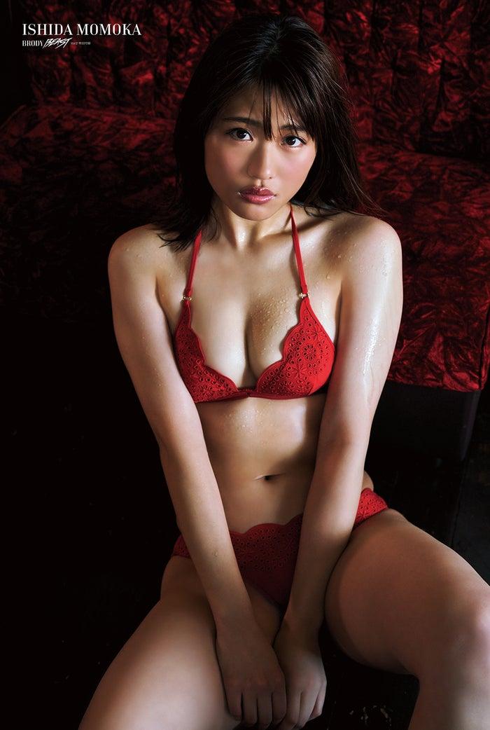 特典ポスター/石田桃香(C)BRODY BEAST(白夜書房)