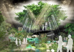 沖縄「DMMかりゆし水族館」190種5000点の動植物展示 内装イメージ一部公開