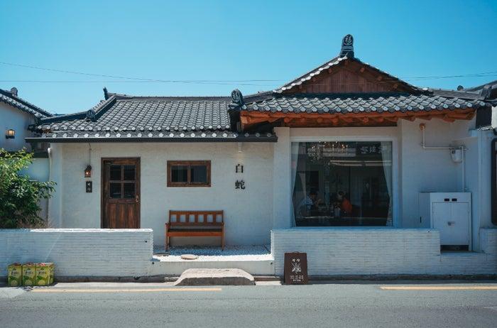 皇理団キルのカフェ/画像提供:韓国観光公社