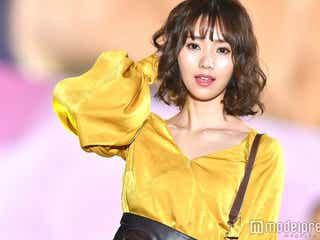 逆輸入女優・池端レイナのデコルテラインが美しく眩しい!<関コレ2017A/W>