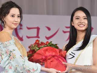 「ミス美しい20代コンテスト」グランプリはモデル美女 河北麻友子も「眩しい」と驚きの輝き