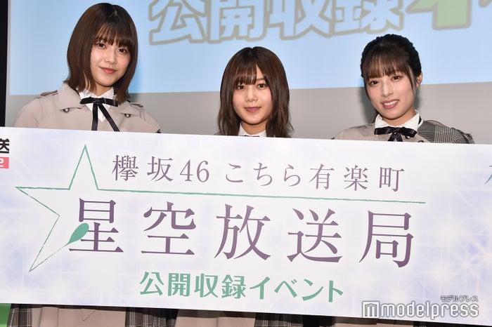 (左から)渡邉理佐、尾関梨香、齋藤冬優花(C)モデルプレス
