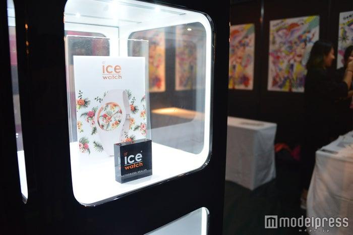 「ICE-WATCH」のブースの模様(C)モデルプレス