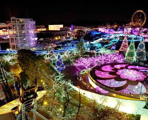"""「よみうりランド ジュエルミネーション」2021年度テーマは""""希望の輝き""""カラフルな光の空間へ"""