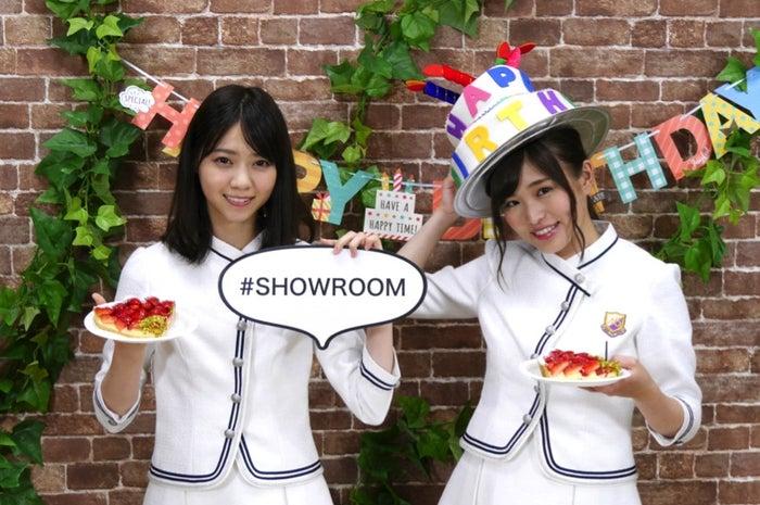 西野七瀬、伊藤かりん(画像提供:SHOWROOM)