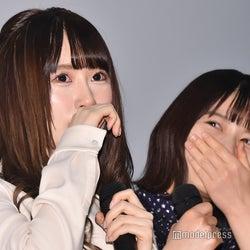 欅坂46長沢菜々香、織田奈那の主演映画舞台あいさつで涙「来ていいよって言ってくださった理由が…」<未来のあたし>
