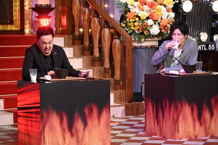 有田哲平、田中圭 (C)日本テレビ