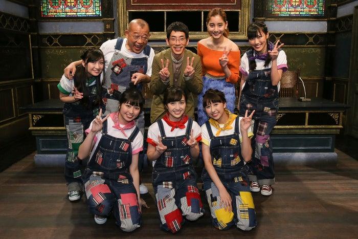 新木優子とももクロがテレビ初共演(C)関西テレビ