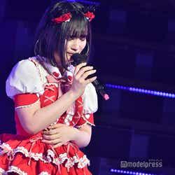 涙を見せる矢作萌夏「AKB48矢作萌夏ソロコンサート~みんなまとめてすちにさせちゃうぞ~」 (C)モデルプレス