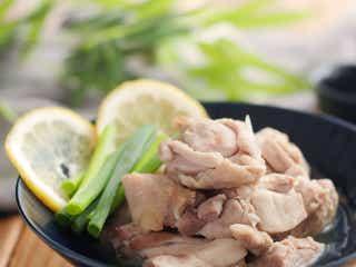 レンジで簡単「しっとり 鶏塩レモン」の作り方