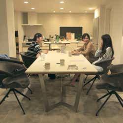 流佳、香織、春花「TERRACE HOUSE TOKYO 2019-2020」8th WEEK(C)フジテレビ/イースト・エンタテインメント