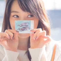 葛西臨海水族園の入園前/深川麻衣『MY magazine』より(画像提供:宝島社)
