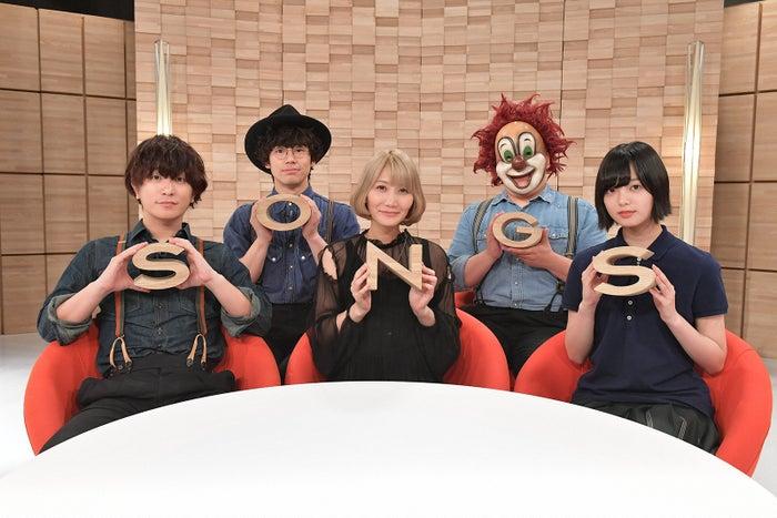 セカオワ×欅坂46平手友梨奈、スペシャル対談(C)NHK