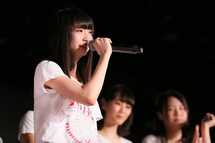 荻野由佳/NGT48劇場の様子(C)AKS