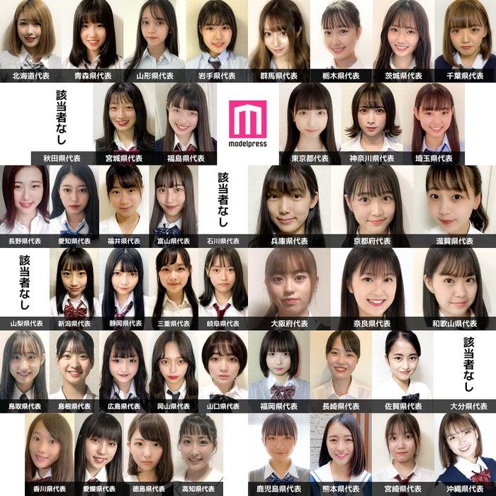「女子高生ミスコン2020」都道府県代表