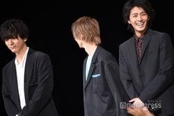 (左から)浅香航大、横浜流星、中尾暢樹(C)モデルプレス
