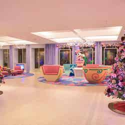 東京ディズニーセレブレーションホテル:ウィッシュのデコレーション ※イメージ (C)Disney