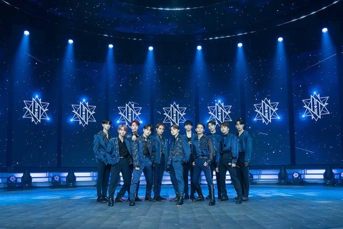 「JO1 Live Streaming Concert 『STARLIGHT DELUXE』」(C)LAPONE ENTERTAINMENT