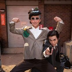 中川大志&山田裕貴、伝説のコントキャラに挑戦<夜の連続テレビ小説「うっちゃん」>