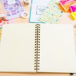 不器用でもできる♡ノートが超可愛くなる簡単デコレーション術