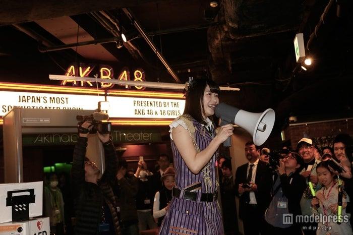 AKB48劇場、来場者数100万人突破 横山由依が感謝のコメント(C)AKS【モデルプレス】