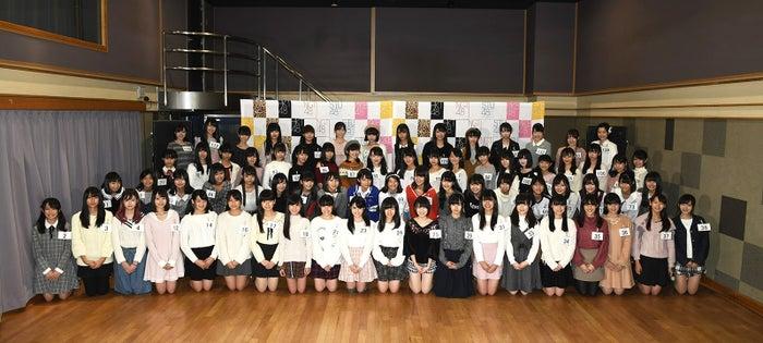 「第3回AKB48グループドラフト会議候補者オーディション」三次審査通過者(C)AKS
