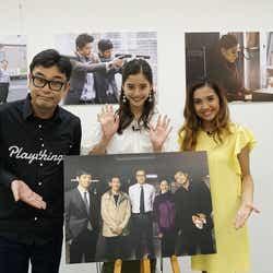 中島ヒロト、新木優子、Beverly(画像提供:関西テレビ)