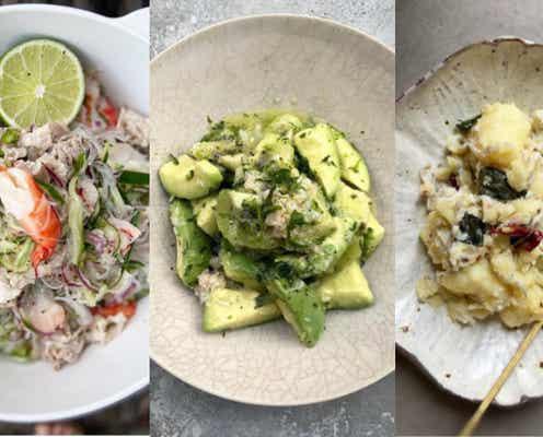 【和洋中サラダまとめ】いつも同じ…から脱却!無限に食べられる野菜レシピ7選