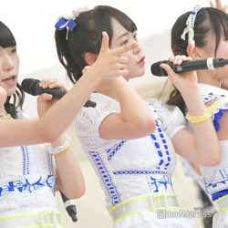 山内瑞葵、西川怜、久保怜音/AKB48フレッシュ選抜「TOKYO IDOL FESTIVAL 2018」(C)モデルプレス